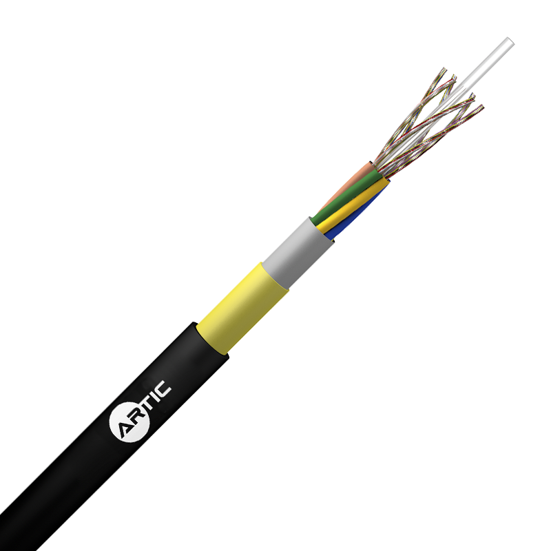 CABLE ADSS CUBIERTA SIMPLE 100% SECO VANO 80 MT 6//144 FO
