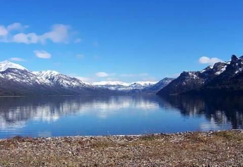 Implementarán cable especial de Artic para cruzar lago en la Patagonia Argentina