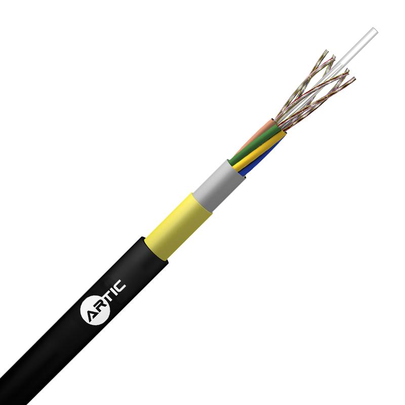 Cables Fibra Optica ADSS Cubierta Simple Seco vano 60 Mt Loose Tube 8/60 FO
