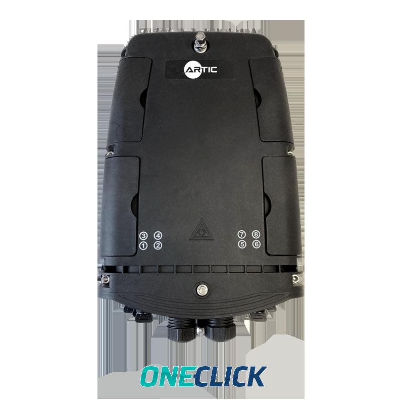 Caja de distribución QX IP68 8 puertos
